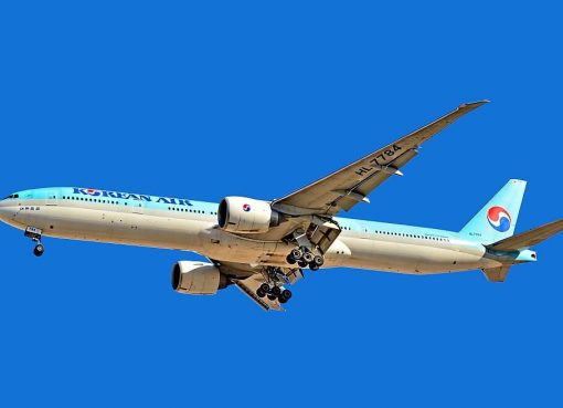 Boeing 777 3B5ER HL7784 Korean Air at McCarran International Airport