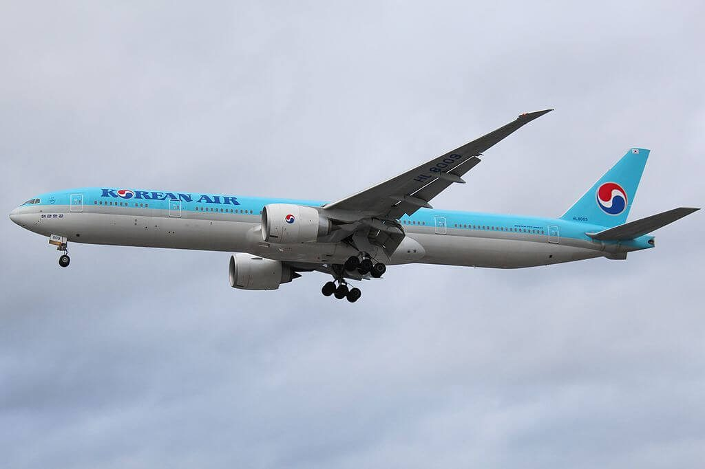 Boeing 777 3B5ER HL8009 Korean Air at London Heathrow Airport