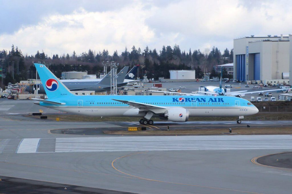 Boeing 787 9 Dreamliner Korean Air HL8345