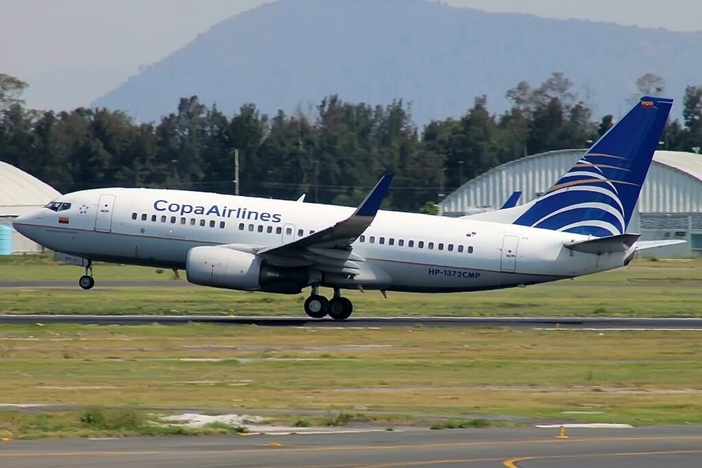 Copa Airlines Boeing 737 7V3WL HP 1372CMP at Gustavo Rojas Pinilla International Airport