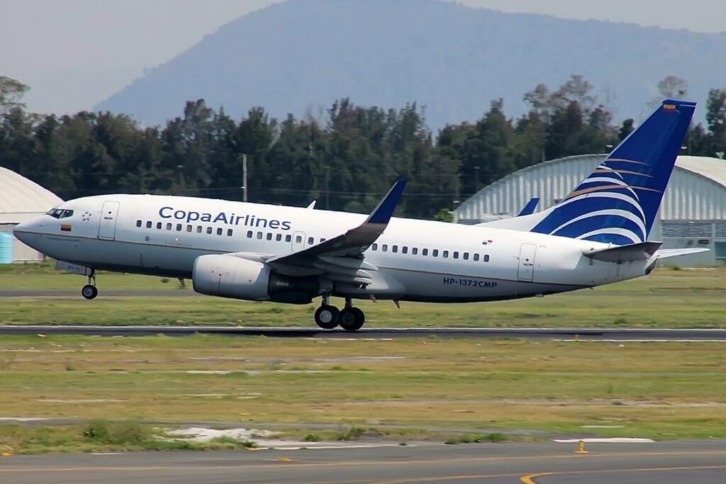 Copa Airlines Boeing 737 7V3WL HP 1372CMP at Gustavo Rojas Pinilla International Airport