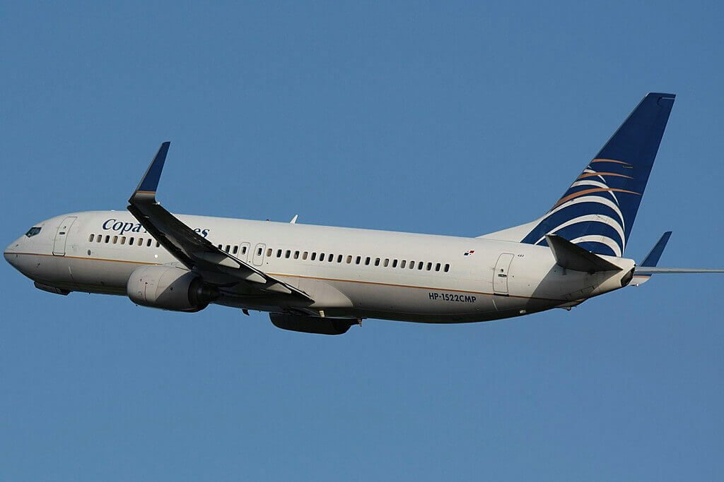 Copa Airlines Boeing 737 8V3WL HP 1522CMP at Luis Muñoz Marín International Airport