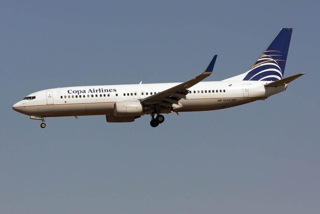 Copa Airlines Boeing 737 8V3WL HP 1532CMP at Miami International Airport