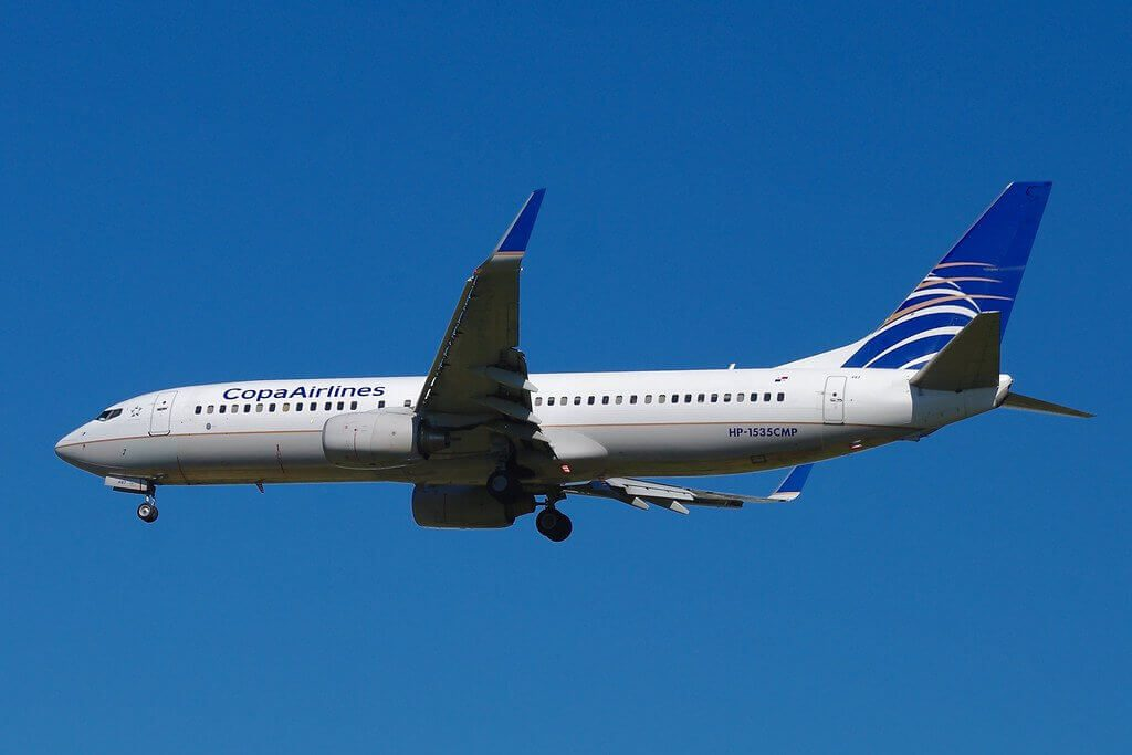 Copa Airlines Boeing 737 8V3WL HP 1535CMP at Washington Dulles International