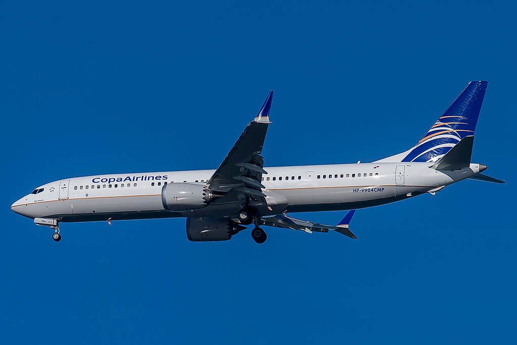 Copa Airlines Boeing 737 9 MAX HP 9904CMP