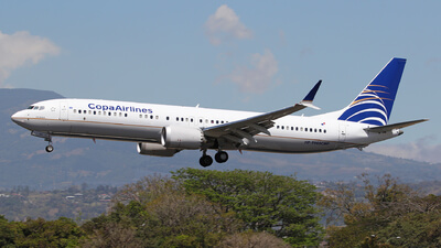 Copa Airlines Boeing 737 9 MAX HP 9905CMP