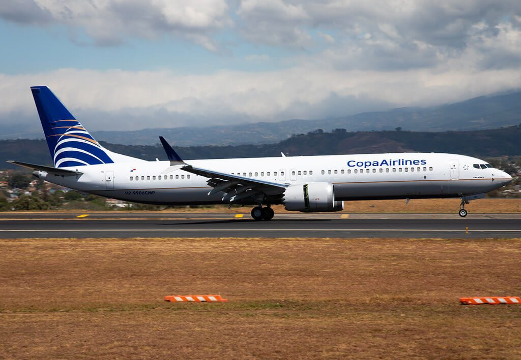 Copa Airlines Boeing 737 9 MAX HP 9906CMP