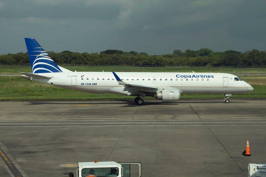 Copa Airlines Embraer ERJ 190AR ERJ 190 100 IGW HP 1540CMP