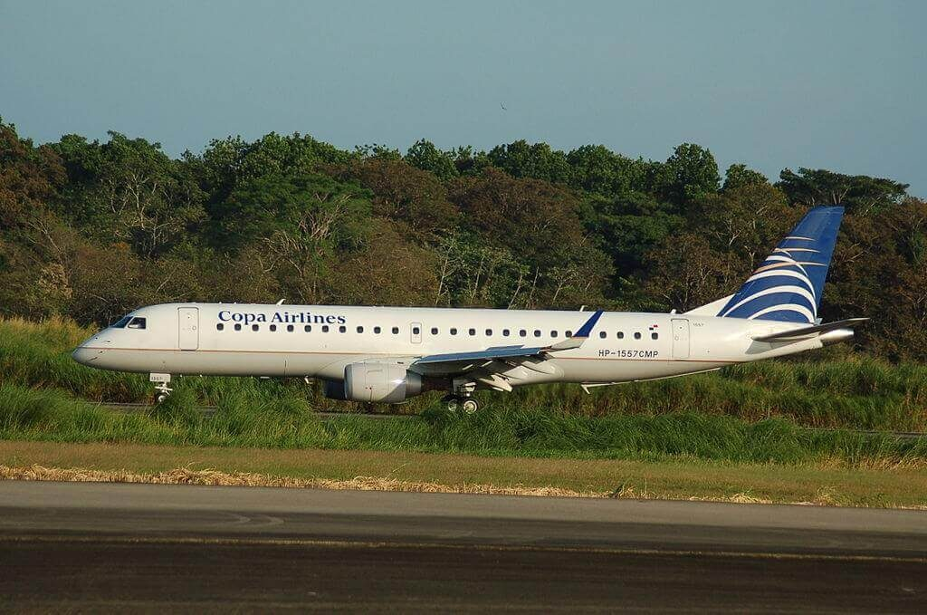 Copa Airlines Embraer ERJ 190AR ERJ 190 100 IGW HP 1557CMP at Tocumen International Airport