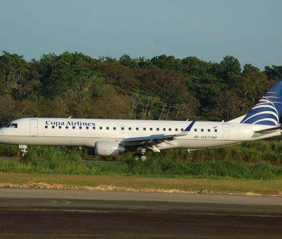 Copa Airlines Embraer ERJ 190AR ERJ 190 100 IGW HP 1557CMP at Tocumen International Airport