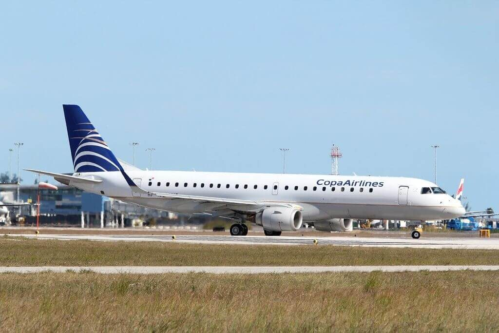 Copa Airlines Embraer ERJ 190AR ERJ 190 100 IGW HP 1558CMP at Nassau International Airport