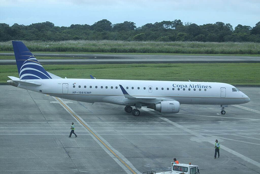 Copa Airlines Embraer ERJ 190AR ERJ 190 100 IGW HP 1561CMP at Tocumen International Airport