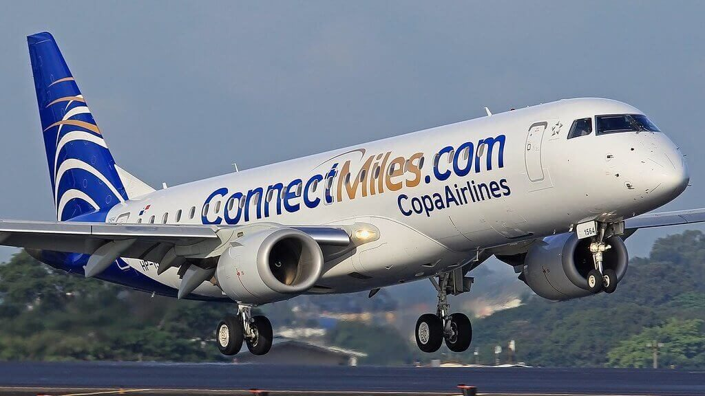 Copa Airlines Embraer ERJ 190AR ERJ 190 100 IGW HP 1564CMP Connect Miles at Luis Munoz Marin International