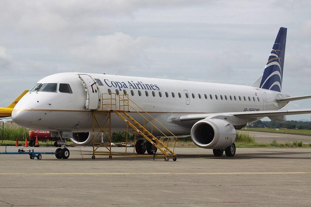 Copa Airlines Embraer ERJ 190AR ERJ 190 100 IGW HP 1565CMP at Tocumen International Airport