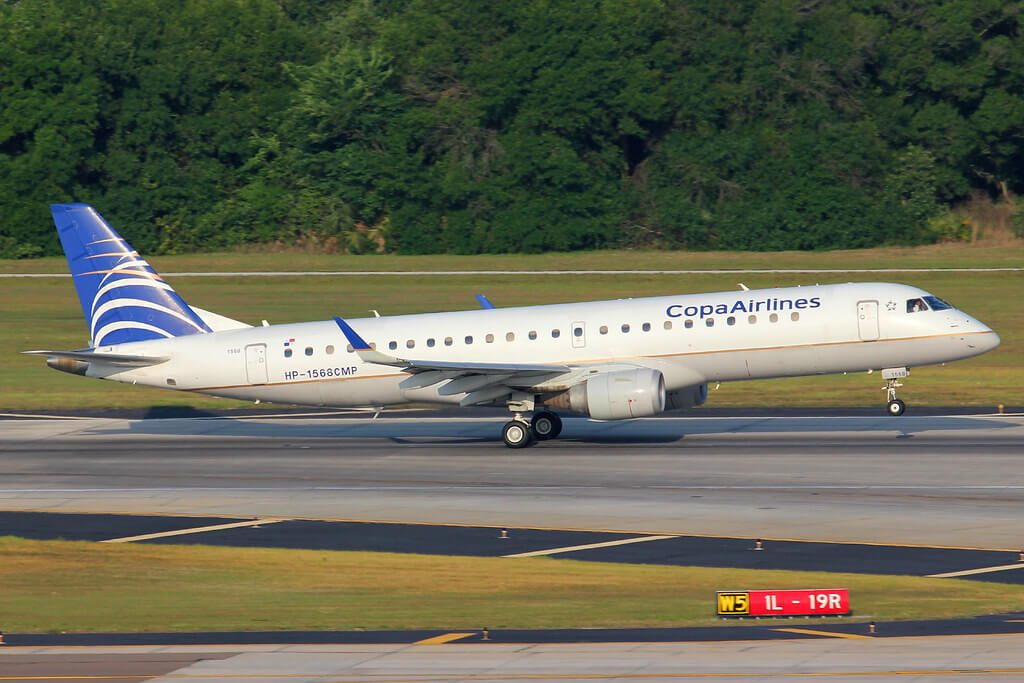 Copa Airlines Embraer ERJ 190AR ERJ 190 100 IGW HP 1568CMP at Tampa International