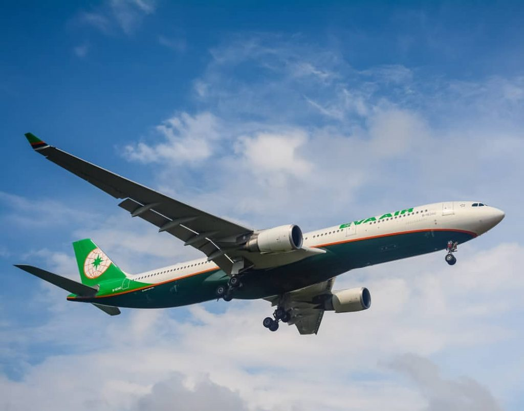 EVA Air B 16340 Airbus A330 302