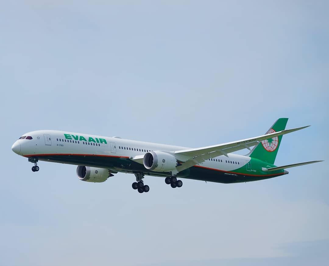 EVA Air Boeing 787 10 Dreamliner B 17801