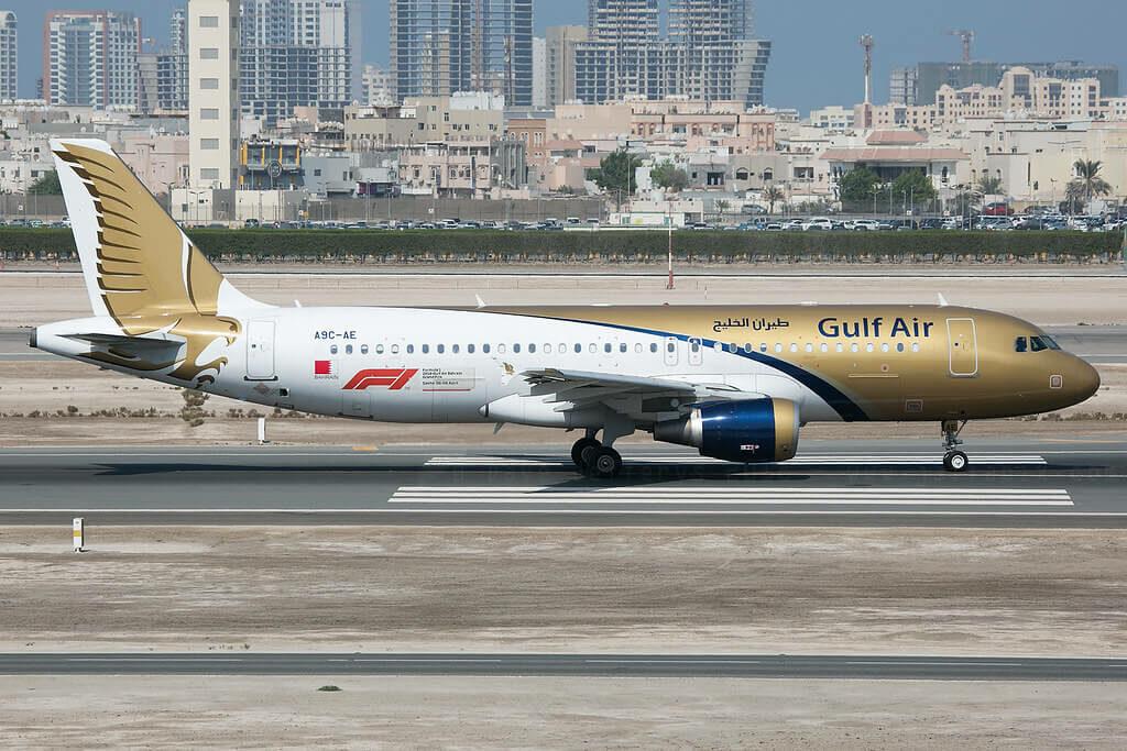 Gulf Air Airbus A320 214 A9C AE