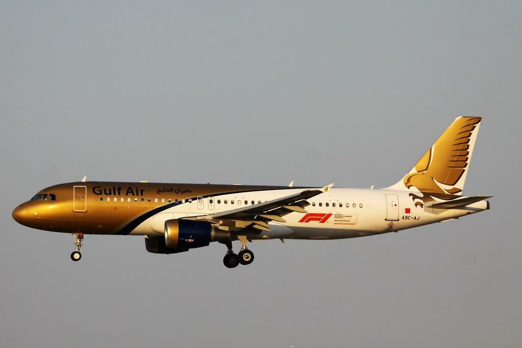 Gulf Air Airbus A320 214 A9C AJ