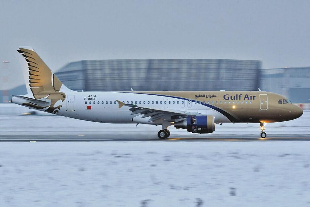 Gulf Air Airbus A320 214 F WWBH A9C AH MSN 4218