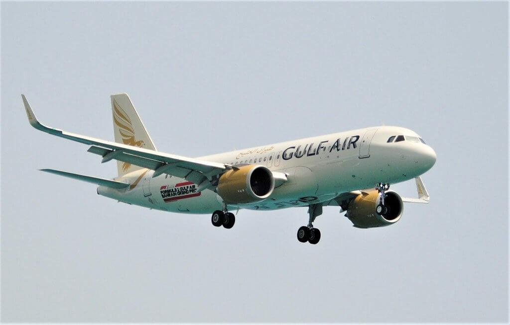 Gulf Air Airbus A320 251N A9C TA at Larnaca International Airport