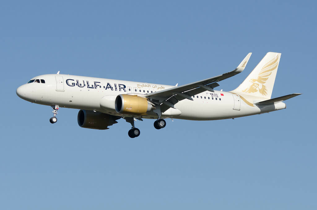 Gulf Air Airbus A320 251N A9C TB F WWBX msn 8779 at Toulouse Blagnac Airport