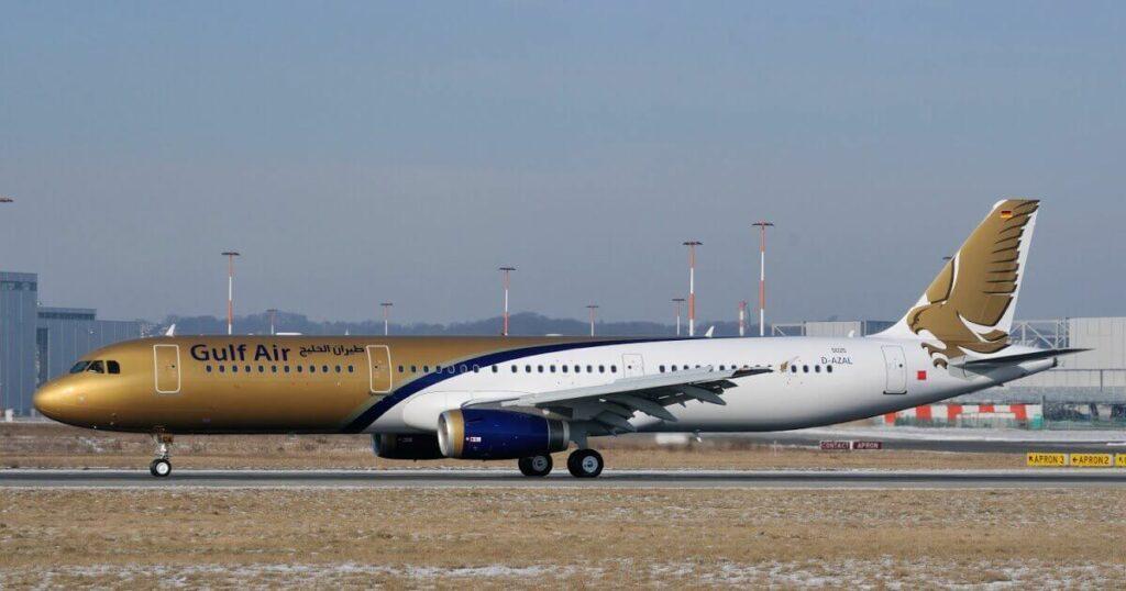 Gulf Air Airbus A321 231 A9C CA MSN 5025