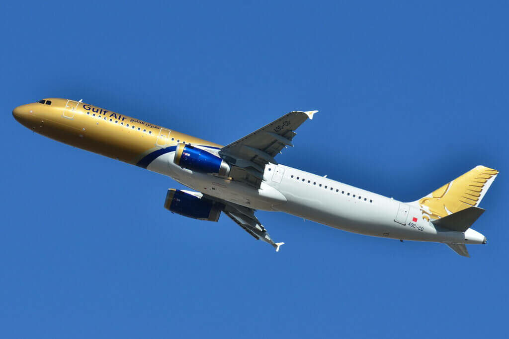 Gulf Air Airbus A321 231 A9C CD