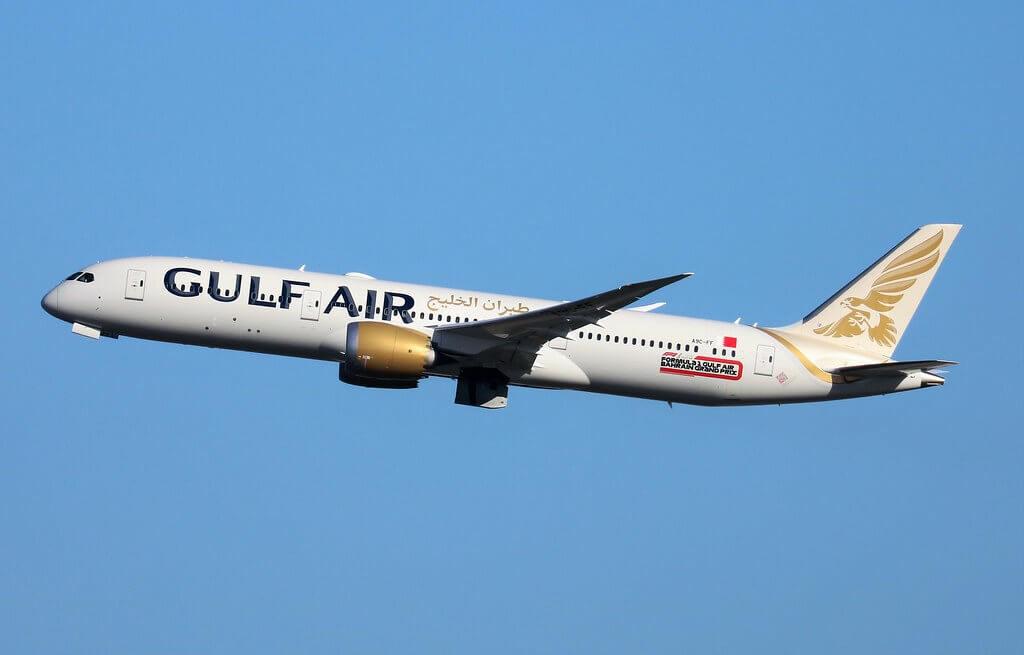 Gulf Air Boeing 787 9 Dreamliner A9C FF at LHR Airport