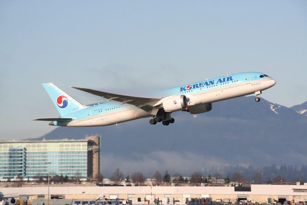 Korean Air Boeing 787 9 Dreamliner HL8081