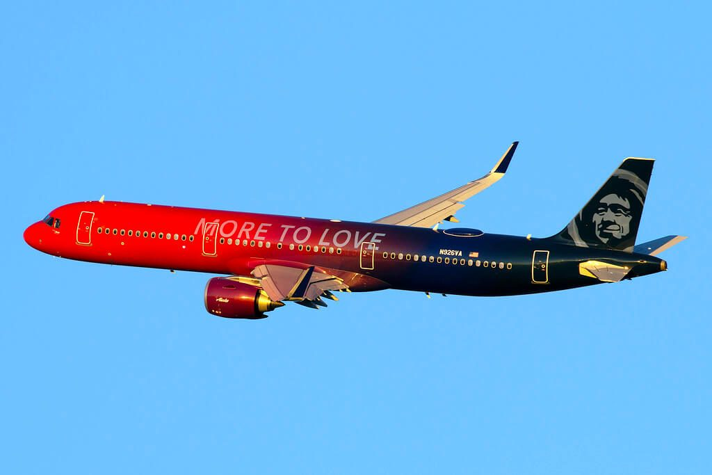 N926VA Alaska Airlines Airbus A321 253N More To Love Livery