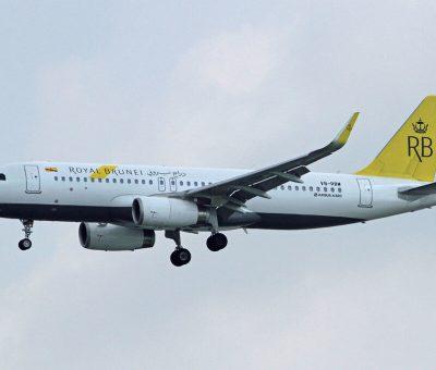 Royal Brunei Airbus A320 232WL V8 RBW at Soekarno Hatta International Airport