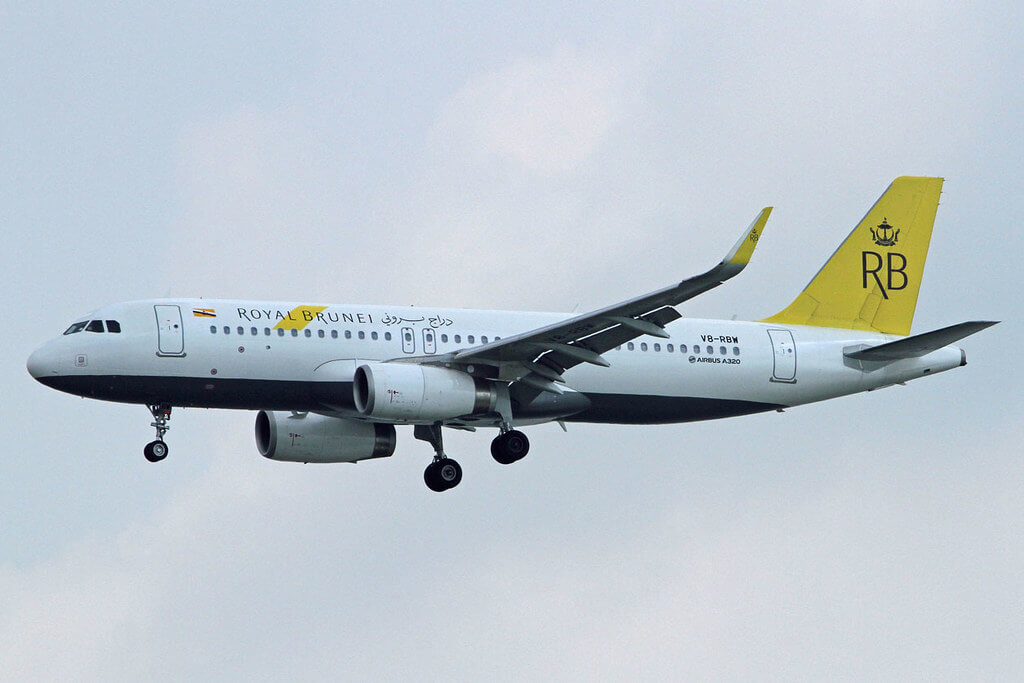 Royal Brunei Airbus A320 232WL V8 RBW at Soekarno Hatta International Airport