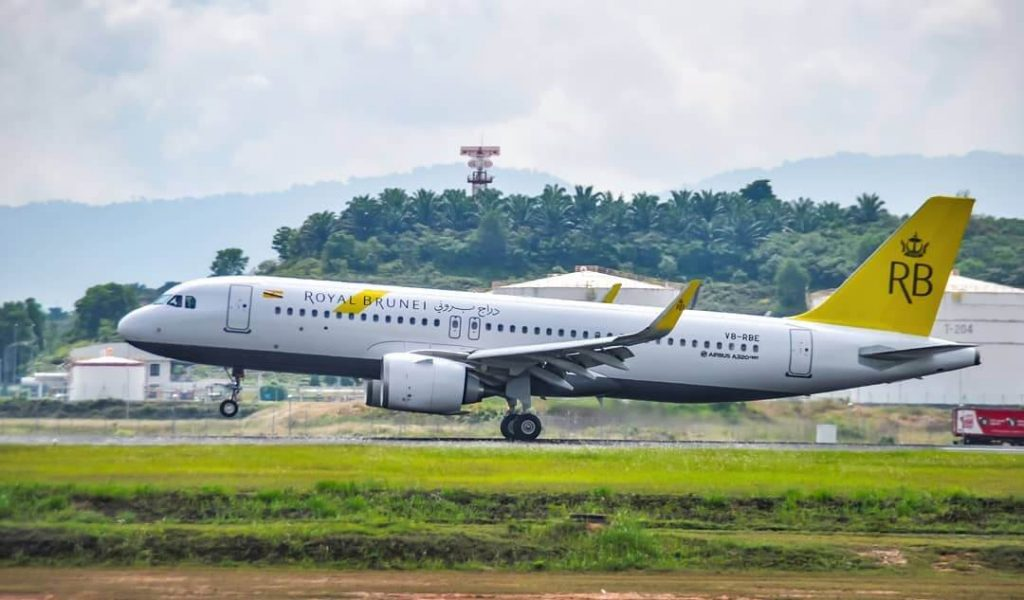 Royal Brunei Airlines Airbus A320 251Neo V8 RBE