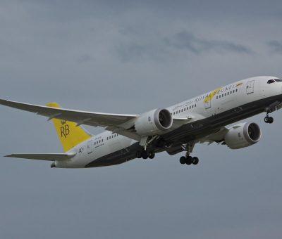 Royal Brunei Boeing 787 8 Dreamliner V8 DLD at London Heathrow Airport