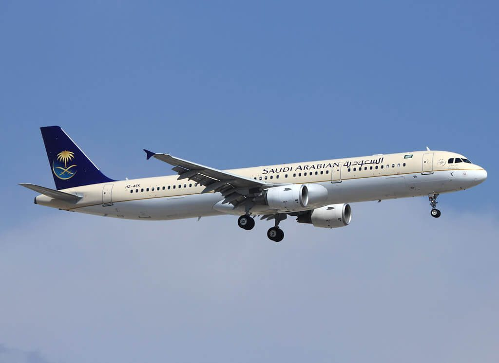 Saudia Airbus A321 211 HZ ASK
