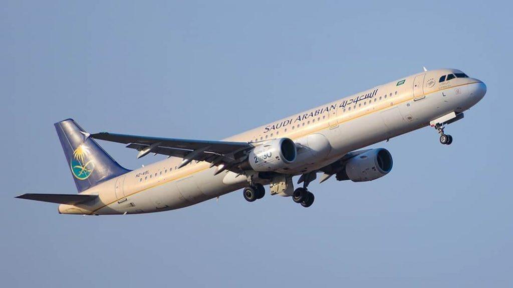 Saudia Airbus A321 211 HZ ASL