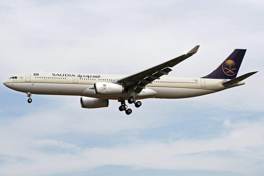 Saudia Airbus A330 343 HZ AQ14