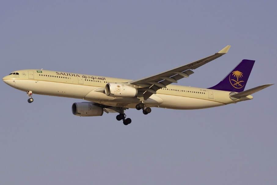 Saudia Airbus A330 343 HZ AQ16