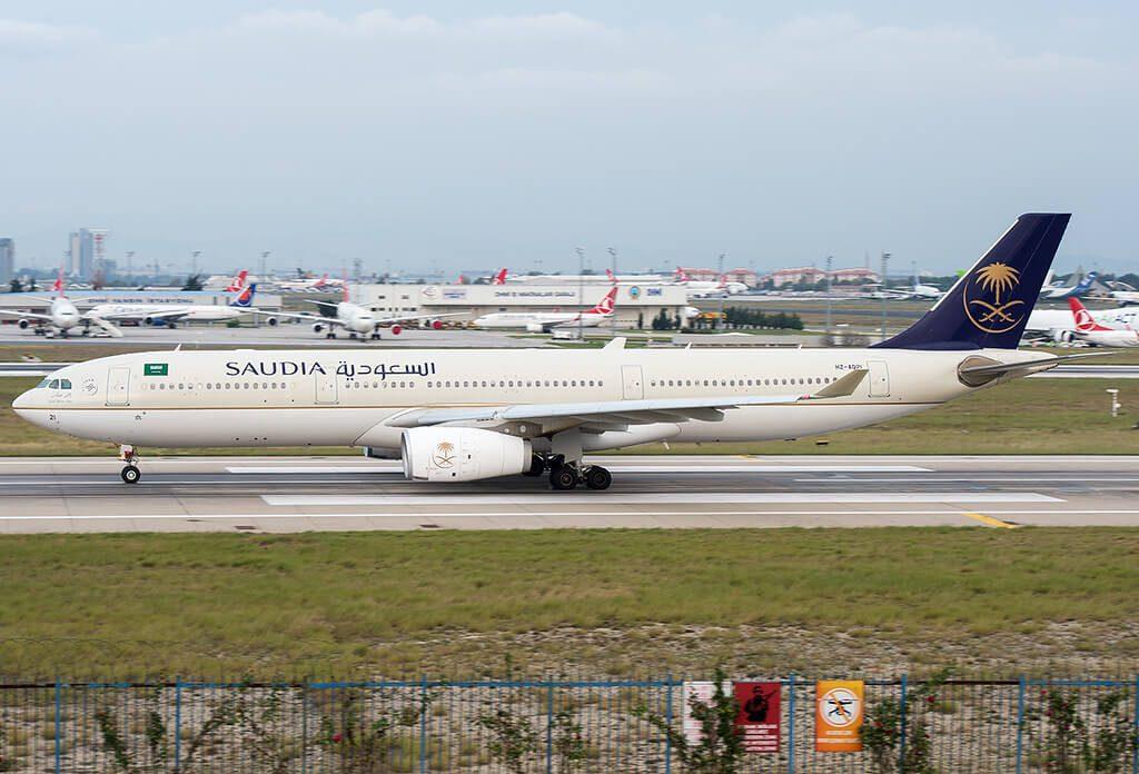 Saudia Airbus A330 343 HZ AQ17