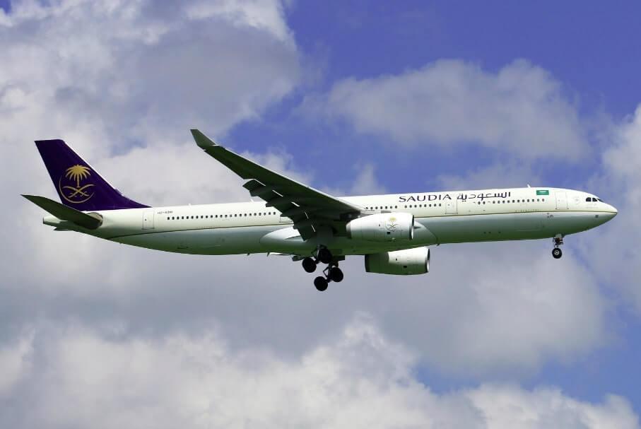 Saudia Airbus A330 343 HZ AQ18
