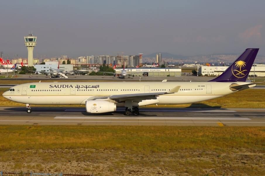 Saudia Airbus A330 343 HZ AQ19