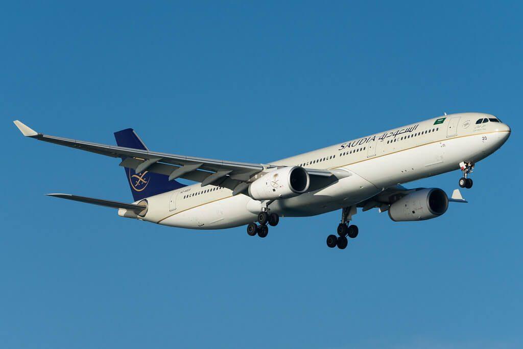 Saudia Airbus A330 343 HZ AQ20