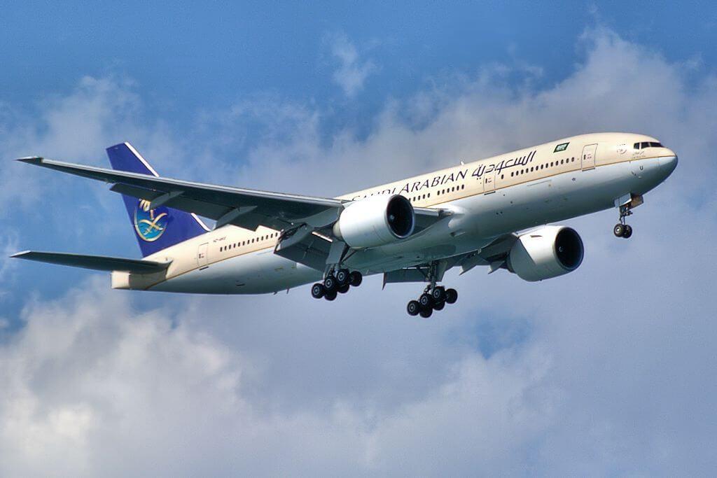 Saudia Boeing 777 268ER HZ AKU