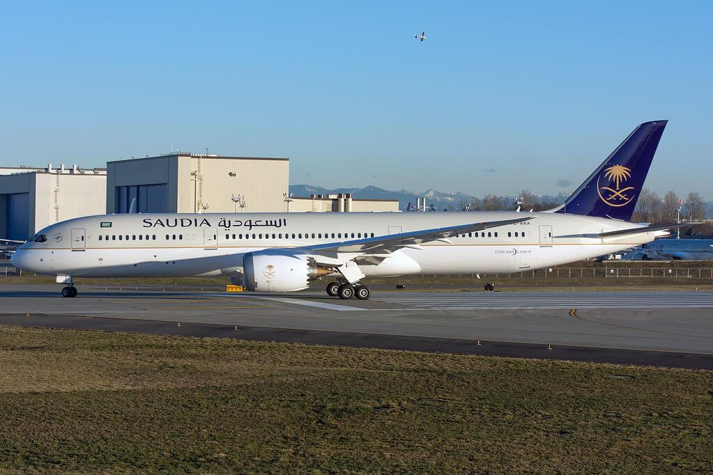 Saudia Boeing 787 9 Dreamliner HZ ARA 1