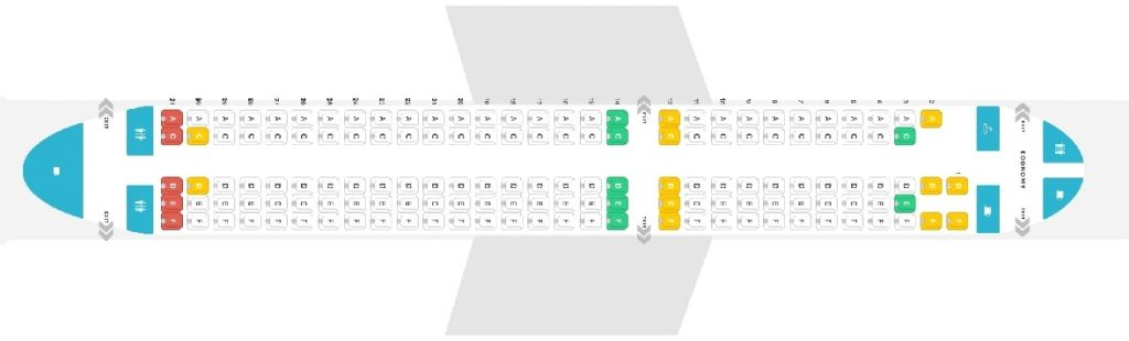 Seat Map and Seating Chart Airbus A200 300 CS300 airBaltic