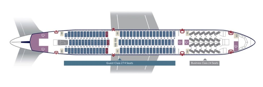 Seat Map and Seating Chart Boeing 787 9 Dreamliner Saudia