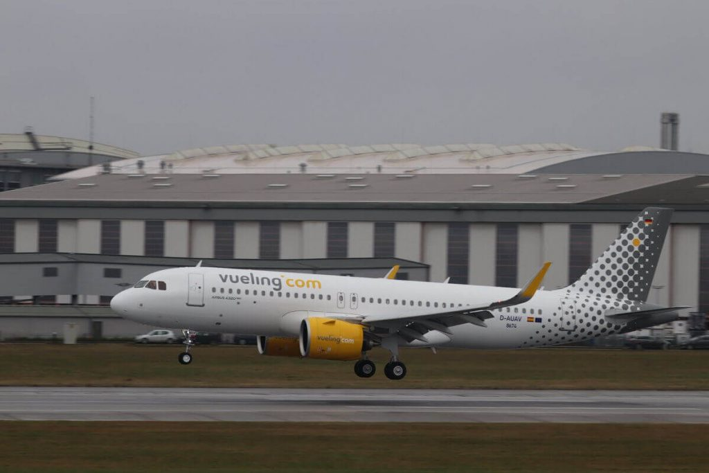 Vueling Airlines Airbus A320 271N EC NCF Test Flight