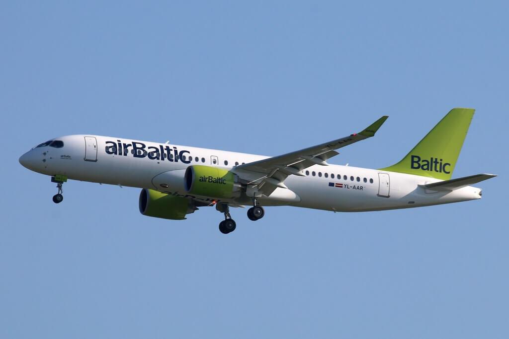 airBaltic Airbus A220 300 CS300 YL AAR