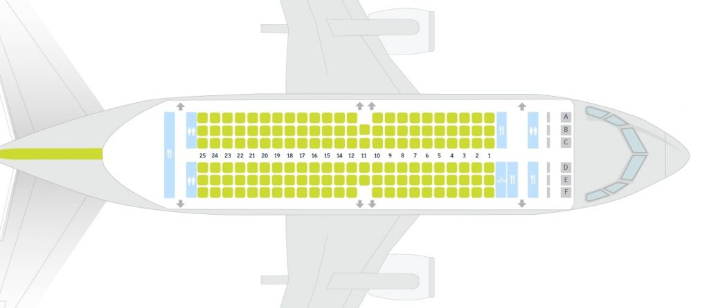 airBaltic Boeing 737 300 Seating Plan 142 Seats
